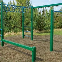 Planet Playgrounds Free Standing Fun Obstacle Course
