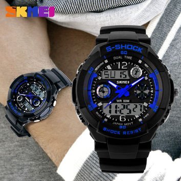 Reloj Hombre Sports Watches Men Led Digit Watch Clocks LED Dive Military Wristwatches Relogio Masculino New 2015 Skmei Hot Sell 0931