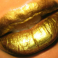 ZOMBIE GOLD Sparkle Brilliance Lip Shimmer Gloss by 8ThWonderInc