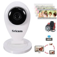 ELEGIANT 720P Indoor IR Wireless Wifi IP Camera Network Surveillance Security P/T EU