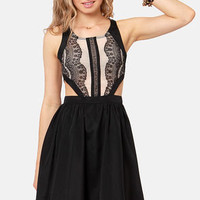 Hotter Than It Looks Black Lace Dress