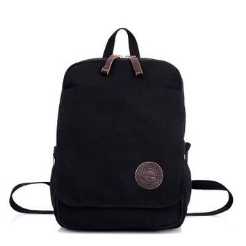 School Backpack High Quality Thickened Canvas Student Schoolbags For Boys Large Capacity School Bag For teens Children Backpacks mochila escolar AT_48_3
