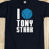 I Love Tony Stark Shirt