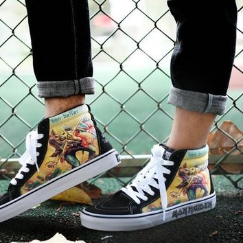 Vans x Iron Lady Band Limited Edition Casual Running shoes