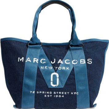 MARC JACOBS New Logo Denim Tote | Nordstrom
