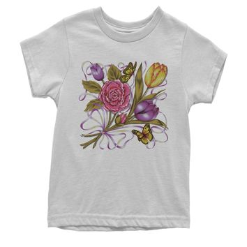 Spring Flower Bouquet Youth T-shirt