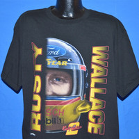 90s NASCAR Rusty Wallace Ford Good Year t-shirt Extra-Large