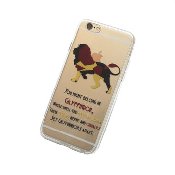 iPhone Hogwarts House Gryffindor Case