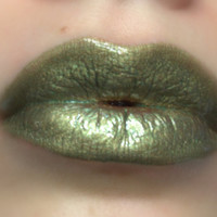 Spanish Olive - Olive Green Liquid Lipstick/Lip gloss