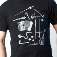 Instruments of War T-shirt on Black