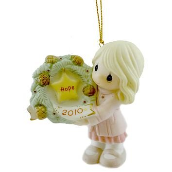 Precious Moments My Hope Is In You Resin Ornament