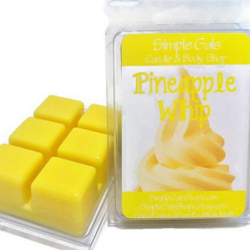 Inspired by Disney Scents - Pineapple Whip Scented Candle Tart Melts, Dole Whip Inspired, Disney Park Inspired