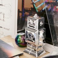 Metallic Robot Bank | Urban Outfitters