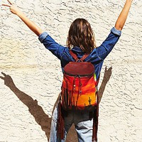 Totem Salvage Womens Sahara Sunset Backpack
