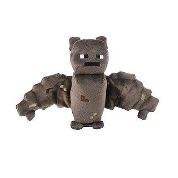 """Minecraft Overworld BAT 7"""" Scale Plush - Offiially Licensed by Jazwares - NEW"""