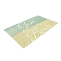 """Alison Coxon """"Gone To The Beach"""" Woven Area Rug, 2' x 3' - Outlet Item"""