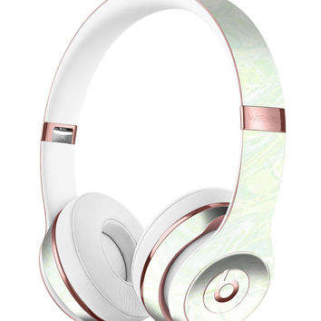 Green Slate Marble Surface V44 Full-Body Skin Kit for the Beats by Dre Solo 3 Wireless Headphones