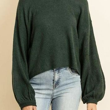Joelle Sweater in Hunter Green