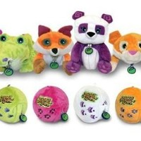 National Geographic's Animal Jam Sidekix Plush Toys, Set of 6
