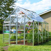 Snap & Grow 8 Foot Hobby Greenhouse 8-20 Foot length