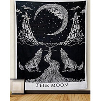 Howling Wolf Tapestry  51x60in