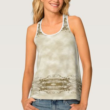 Golden Pillars Tank Top