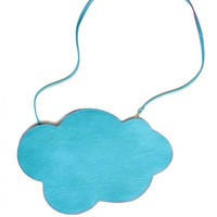 Cloud Bag - turquoise blue by Les Envers