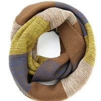 ModCloth Boho Straight to the Summit Circle Scarf in Brown