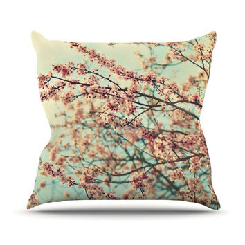 "Sylvia Cook ""Take a Rest"" Outdoor Throw Pillow"