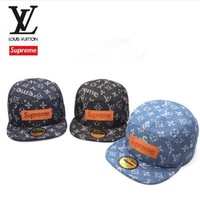 ABKUYOU Supreme x Louis Vuitton SnapBack hat