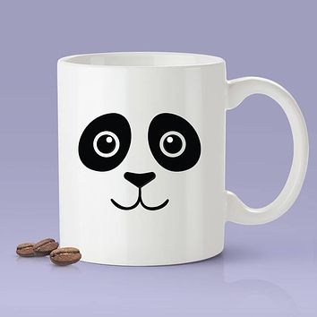 Panda Face Funny Coffee Mug - Panda Lover Cute Face [Gift Idea - Makes A Fun Present]