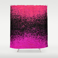 fiery exchange Shower Curtain by Marianna Tankelevich