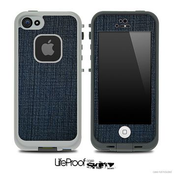 Dark Denim Skin for the iPhone 5 or 4/4s LifeProof Case