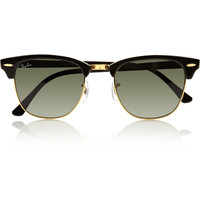 Ray-Ban - Clubmaster acetate sunglasses