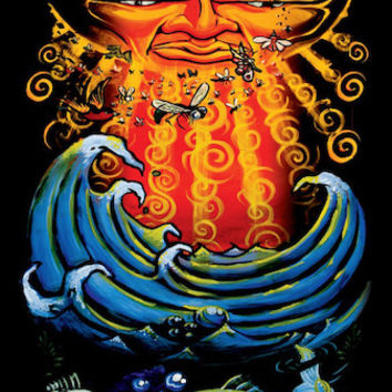Sublime - Sun and Fish - Poster
