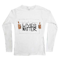 Black & Brown Lives Matter -- Women's Long-Sleeve