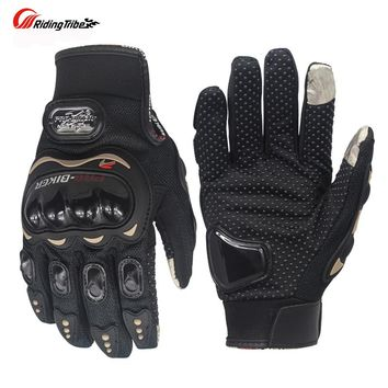 Riding Tribe Touch Screen Gloves Motorcycle Gloves Winter Summer Moto Motorbike Motocross Protective Gear Racing Glove