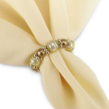 Beads and Pearls Napkin Ring