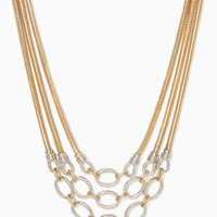 Linked and Layered Necklace | Fashion Jewelry | charming charlie