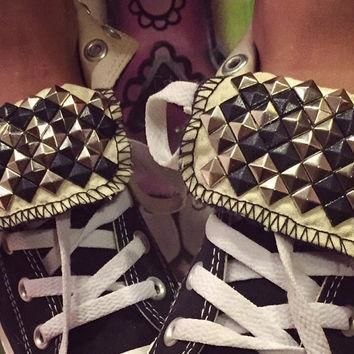 custom studded converse all star high tops chuck taylor all sizes colors