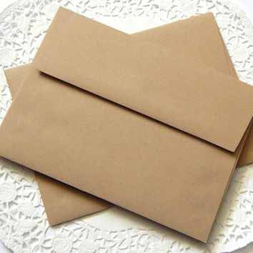 Kraft Brown Envelopes. Kraft Envelopes. Stationery Envelopes. Invitation Envelopes. Letter Envelope. Note card Envelope. Letter Writing.