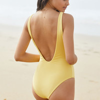 Young & Reckless Lace-Up One Piece Swimsuit at PacSun.com