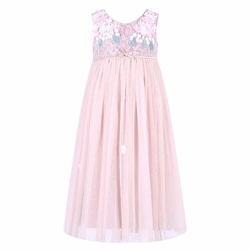 Baby Girls Dress Summer 2015 Brand Girls Wedding Dress Lace Princess Dress for Girls Clothes Kids Dresses Children Clothing