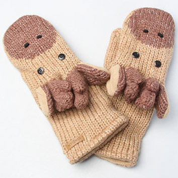 The Manny The Moose Mittens