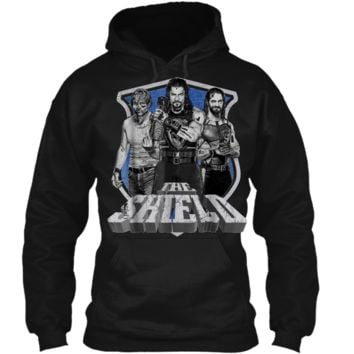 WWE The Shield Graphic  Pullover Hoodie 8 oz