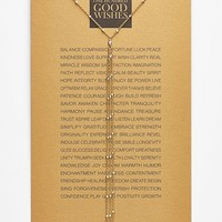 Women's Dogeared '100 Good Wishes' Boxed Y-Necklace