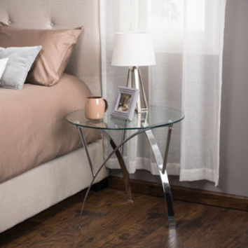 Glass Nightstands - Overstock Shopping - Bedside Tables.