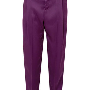 Haider Ackermann - Pleated satin pants