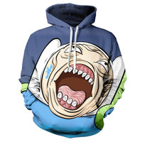 Finn The Human Adventure Time Hoodie