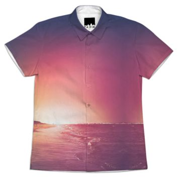 Summer - Short sleeve workshirt created by HappyMelvin   Print All Over Me